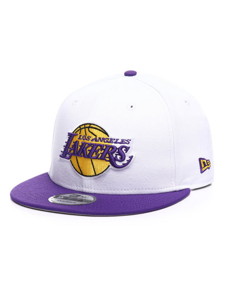 New Era - 9Fifty Los Angeles Lakers Twill Snapback Hat