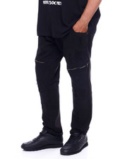 Jeans & Pants - Stretch Rip & Repair Moto Denim Jean W/Zip (B&T)-2375733