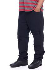 Men - Basic Denim W/Rip & Repair (B&T)-2377458