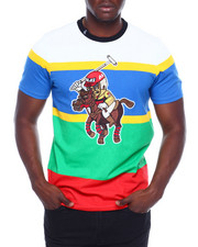 T-Shirts - STRIPE JOCKEY TEE-2379373