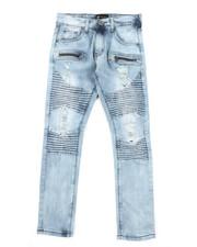 Bottoms - Moto Denim Jeans (8-20)-2379493