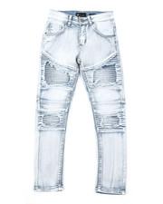 Bottoms - Moto Knee Twill Jeans (8-20)-2379553