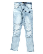 Sizes 8-20 - Big Kids - Ripped Knee Jeans (8-20)-2379537