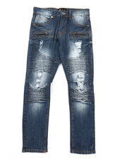Bottoms - Moto Denim Jeans (8-20)-2379521