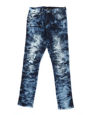 Sizes 8-20 - Big Kids - Ripped Knee Jeans (8-20)-2379545