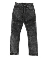 Bottoms - Moto Jeans W/ Zipper Detail (8-20)-2379585