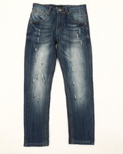 Bottoms - Ripped Denim Jeans (8-20)-2379593