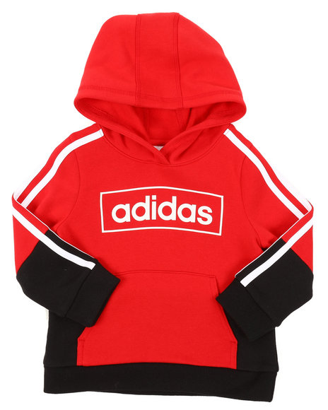 Adidas - Colorblock Pullover Hoodie (2T-4T)
