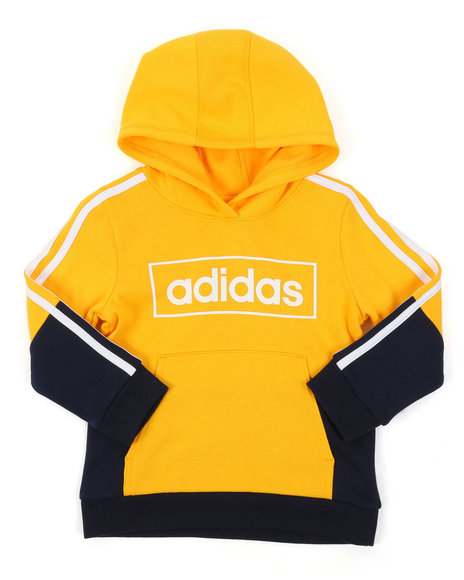 Adidas - Colorblock Pullover Hoodie (4-7)