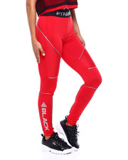 Black Pyramid - Reflective Leggings-2379735