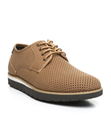 HAWKE & Co. - Jasper Perforated Lace-Up Derby Shoes