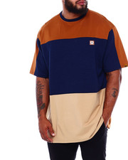 T-Shirts - Makobi Jacquard S/S Jersey (B&T)-2379076