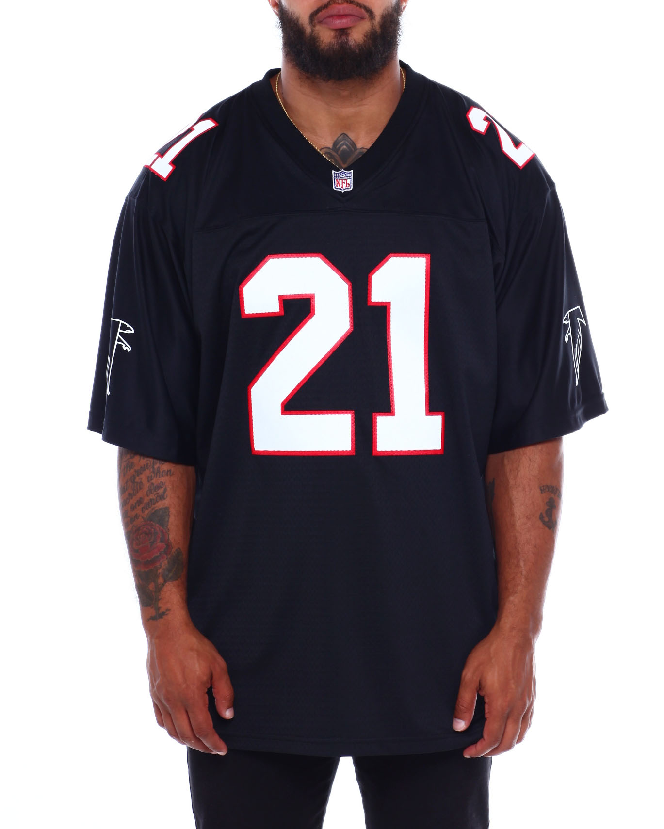 cheap for discount 6fbd6 f8bba Buy Deion Sanders NFL Legacy Jersey (B&T) Men's Shirts from ...
