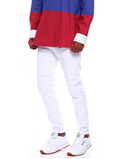 Jeans & Pants - TWILL PANT WITH RIPS-2379471