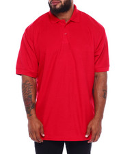 Men - S/S Solid Pique Polo (B&T)-2379740