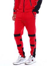 Jeans & Pants - Colorblock Moto Fleece Pant w Contrat Piping-2380036