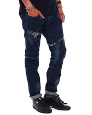 Men - Hybrid Jean w Star detail-2379444