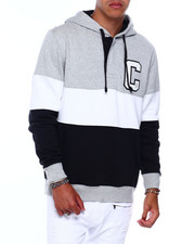 Chaps - ICONIC C COLORBLOCK HOODIE-2380126