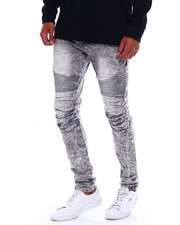 Jeans & Pants - Grey Acid Moto Jean-2379450