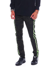 Jeans & Pants - Camo Pant w Neon Panel-2379673