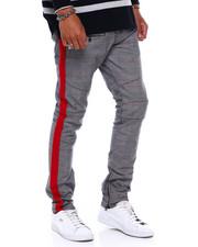 Jeans & Pants - Plaid Pant w Tape Detail-2379860