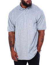 Big & Tall - Basic Solid Pique S/S Polo (B&T)-2379111