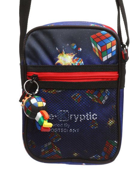 deKryptic - Rubik's Invaders Augmented Reality Cross Body Bag