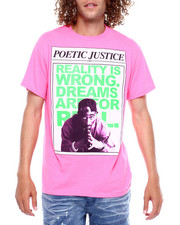 C-LIFE GROUP LTD - DREAMS ARE REAL POETIC JUSTICE TEE-2380486