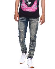 Jeans & Pants - Rip and repair Stretch Jean-2380696