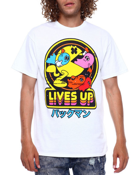 C-LIFE GROUP LTD - POWER UP PACMAN TEE