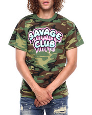 Hard Turn - SAVAGE CLUB CAMO TEE-2380532