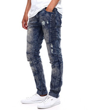 Jeans & Pants - Side Panel Articulated Moto Stretch Jean-2380652