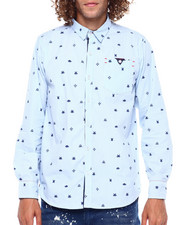 Button-downs - Space invader Oxford-2380553