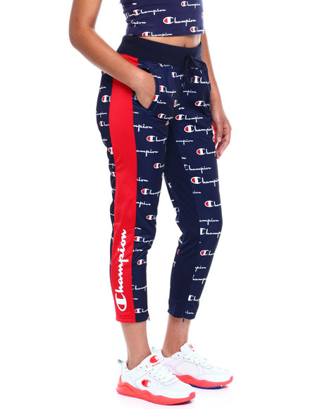 Champion - Tricot Slim Track Pant-All Over Print W/Champion Taping