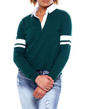 Almost Famous - Rugby Arm Band Pullover-2381201