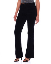 Flare - 2 Pkt Front Flare Leg Corduroy Pant-2380954