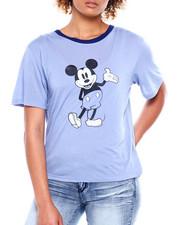 Graphix Gallery - Mickey Contrast Neck Tee-2381127