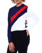 Fila - Ayeka Long Sleeve Crop Tee-2380991