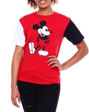 Graphix Gallery - Mickey Color Block Pigment Wash Tee-2381102