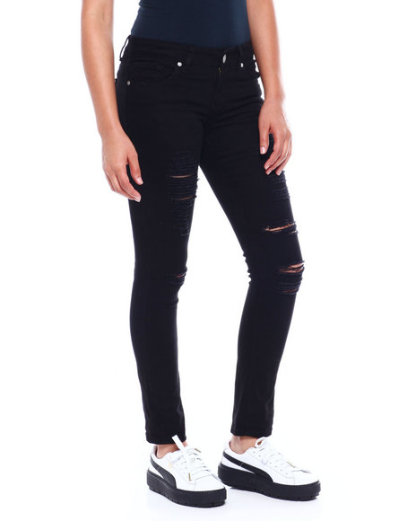 Fashion Lab - Destructed 5 Pkt Skinny Jean