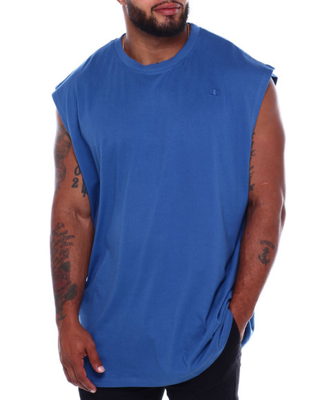 Solid Muscle Left Chest Tank Top (B&T) by Champion