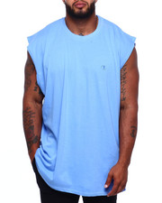 Tanks - Solid Muscle Left Chest Tank Top (B&T)-2381529