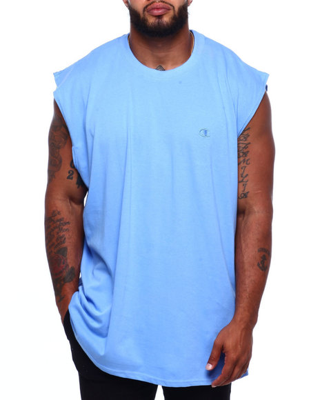 Champion - Solid Muscle Left Chest Tank Top (B&T)