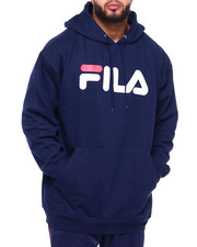Fila - Pockets Pullover Hoodie (B&T)-2381609
