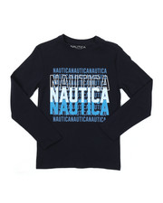 Nautica - Long Sleeve Graphic Tee (8-20)-2381509
