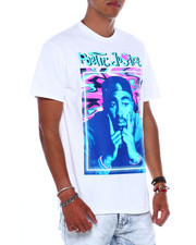 C-LIFE GROUP LTD - TRIPPY CAMO TUPAC POETIC JUSTICE TEE-2381267