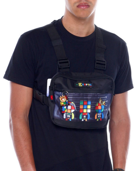 deKryptic - Rubik's Unusual Suspects Augmented Reality Chest Bag