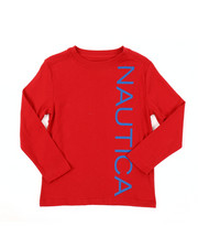 Nautica - Long Sleeve Graphic Tee (4-7)-2381524