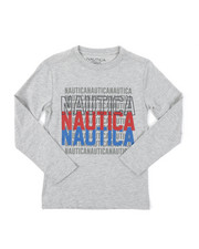 Nautica - Long Sleeve Graphic Tee (8-20)-2381487