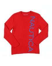 Nautica - Long Sleeve Graphic Tee (8-20)-2381534